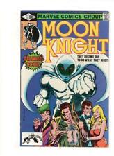 Moon Knight #1 MARVEL-1980-1st Bushman-Bill Sienkiewicz-KEY 9.0