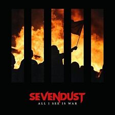 SEVENDUST CD - ALL I SEE IS WAR (2018) - NEW UNOPENED - ROCK METAL - RISE