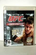 UFC UNDISPUTED 2009 GIOCO USATO OTTIMO SONY PS3 EDIZIONE ITALIANA PRIMA STAMPA