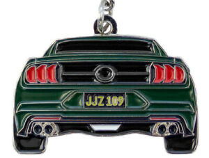 BULLITT Mustang Key Chain * McQueen Cool! * Ships Worldwide & FREE to USA! 2019
