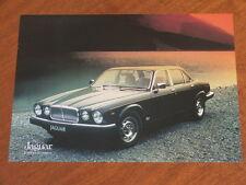 1984 Jaguar XJ6 4.2 original double sided Specification brochure