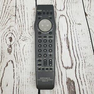 Optimus VCR Video Cassette Remote Control . VSQS1558 Model 63 w/ Battery Cover