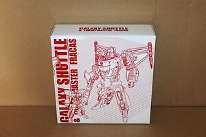 Transformers G1 Reissue victory Galaxy Shuttle and  Fracas