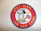 b5686-72 US Vietnam Novelty Patch Navy  Far East Cruise 72 USN IR32C