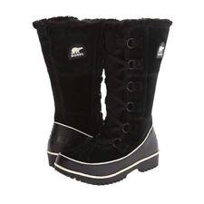 SOREL Tivoli High II Black Suede Winter/Snow Boots SZ 10