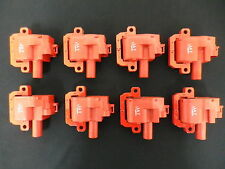 COIL PACKS 8 X HIGH OUTPUT LS1 / 6  RED