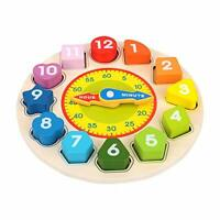 Birthday Gift for 1 2 3 Year Old Baby Toddlers, Wooden Montessori Puzzle Toys