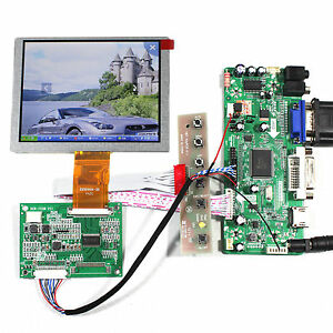 HD MI DVI VGA Audio LCD Controller Board 5inch ZJ050NA-08C 640x480 LCD Display