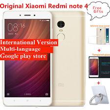 "5.5"" Xiaomi Redmi note 4 Prime 64GB ROM Helio X20 Deca Core MIUI 8 4G Smartphone"