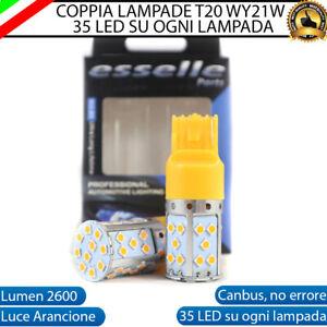 COPPIA LAMPADE FRECCE LED POSTERIORI VOLKSWAGEN VW GOLF 6 VI T20 WY21W CANBUS