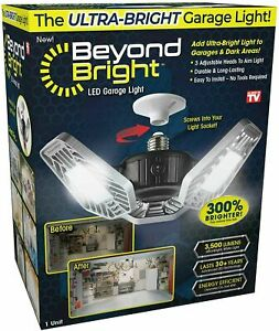 Ontel Beyond Bright LED Ultra-Bright Garage Light