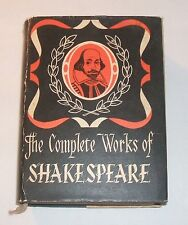 The Complete Works of Shakespeare, HC/DJ, Spring Books, Plays Comedies Tragedies