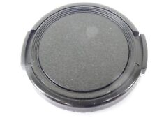 Used 46mm Lens Front Cap Black snap-on type plastic