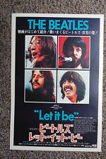 Beatles Poster Let is be #3