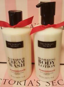 New Victoria's Secret Pomegranate Body Lotion & Cream Wash