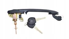 SEAT CORDOBA IBIZA 93- 1x POIGNEE DE PORTE DROITE GAUCHE AVANT EXT 56mm 2x CLÉS