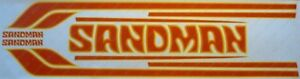 HZ Sandman Decals Stripes Stickers SCREEN PRINTED - CORRECT AS ORIGINAL DY3 Mid