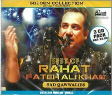 RAHAT FATEH ALI KHAN - BEST OF   SAD QAWWALIES - NEW BOLLYWOOD 3 CD SET