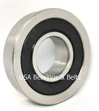 "(Qty 4) FR8RS, FR8-2RS Sealed Flanged Bearings ABEC 3 1/2"" x 1-1/8"""