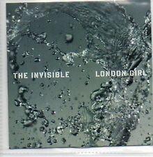 (533B) The Invisible, London Girl - DJ CD