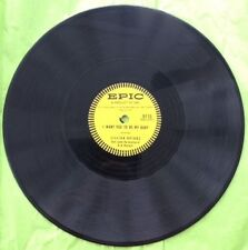 LILLIAN BRIGGS 78 RPM RECORD  'I WANT YOU TO BE MY BABY' & 'DON'T STAY AWAY ...'