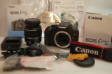 Mint Canon EOS Kiss X3/ Rebel T1i / EOS 500D/ Kit w/ EF-S 18-55mm IS from Japan