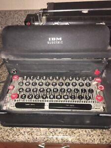 Vintage IBM Model A Electric Executive Repair Or Parts See Description