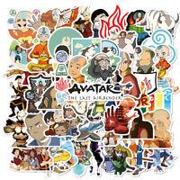50pcs Avatar The Last Airbender DIY Luggage Laptop Skateboard Car PVC Stickers
