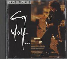 ANNE HAIGIS / CRY WOLF * CD *