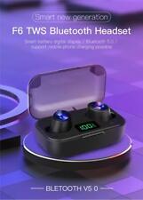Cuffie Air pods Bluetooth auricolari 5.0 Tws Hi-fi 8d surround per Apple iphone