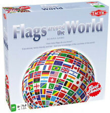 Trivia Games - Flags Around the World Board Game - 52661