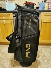 PING Hoofer G400 Golf Stand Bag / 5-Way / Rainhood / Excellent Condition