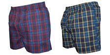 CHEX Amazon 6-8 9-11 Years Boys Tartan Swimming Shorts Mesh Lined Tie Cord Waist
