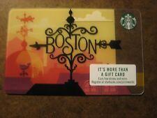STARBUCKS 2018 BOSTON CITY CARD