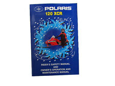 Owner's Manual For Polaris 120 XCR - 9915612