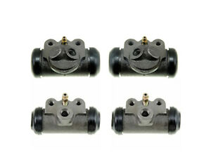 4 Brake Wheel Cylinders 1950-1955 Nash Rambler 50 51 52 53 54 55 NEW SET AMC