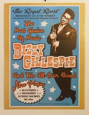 DIZZY GILLESPIE CONCERT VINTAGE JAZZ MUSIC PRINT 18X24 POSTER FREE SHIPPING