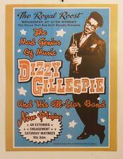 DIZZY GILLESPIE CONCERT VINTAGE JAZZ MUSIC PRINT 18X24 POSTER FREE SHIPPING