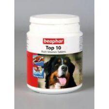 Beaphar sopra 10 Cane Multivitaminico Pillole 180 Tablets/117g Vitamine &