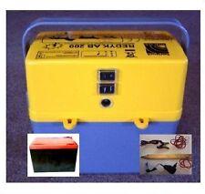 Weidezaungerät inkl. Batterie für 9 v 12 v 230 V Weidezaun Zaungerät Weidegerät