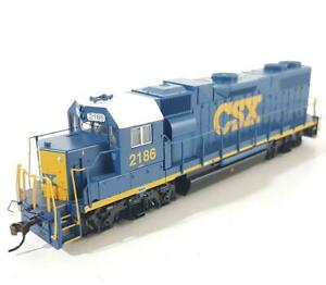 BACHMANN 61114 HO - CSX LIVERY, EMD GP38-2 DIESEL LOCOMOTIVE #2186, DCC FITTED