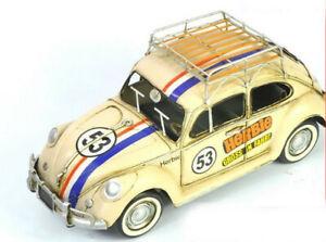 Hot Wheels Elite Herbie Goes To Monte Carlo #53 VW Decorative Beetle 1:8 GIFT