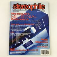 Stereophile Magazine January 2000 Looking Back with Jerry Wexler, Newsstand