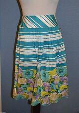 Talbots Regular Floral 100% Cotton Skirts for Women
