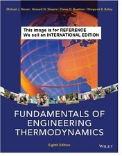 Fundamentals of Engineering Thermodynamics by Howard N(Int' Ed Paperback)8ED