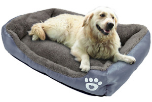 Bed Dog Pet Sofa Cat Cushion Washable Blanket Cotton Warm Puppy Waterproof Seat