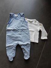 Kanz Babyanzug Zweiteiler Hose Shirt Strampler Frottee Jungen Baby Gr.62,68