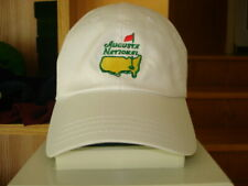 New listing RARE White  MEMBERS ONLY AUGUSTA NATIONAL GOLF CLUB Pro Shop MASTERS Hat