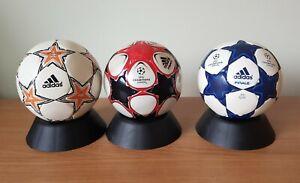 Adidas Finale Champions League  Mini Balls x 3 - Finale 7, Finale 9 & Finale 10