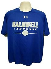 Under Armour Caldwell Lacrosse #6 Adult Large Blue Jersey